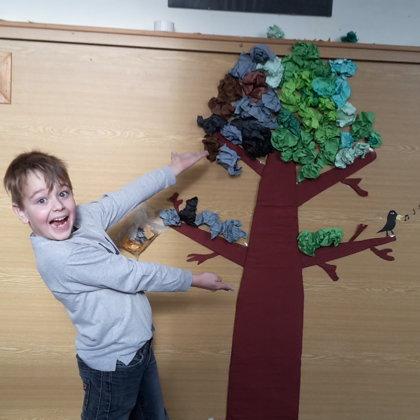 Strom aneb naše nástěnka